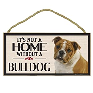 Imagine This Wood Sign for Bulldog Dog Breeds