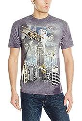 The Mountain Men's King Kitten Adult T-Shirt