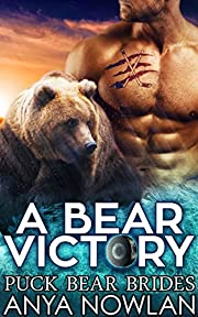 A Bear Victory: BBW Hockey Werebear Mail-Order Bride Second Chance Romance (Puck Bear Brides Book 1)