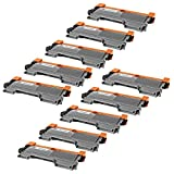 10 Pack TN450 InkBarn Premium Compatible Brother High Yield Toner Cartridges for DCP-7060D, DCP-7065DN, HL-2130, HL-2132, HL2230, HL-2240, HL2240D, HL-2242D, HL-2250DN, HL-2270DW, HL-2280DW, Intellifax 2840, Intellifax 2940, MFC-7240, MFC7360N, MFC-7460DN and MFC-7860DW Printers