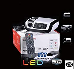REX-CINE Latest 1080p Dlp Android 4.0 WIFI ICS Osram LED Lamp Technology Projector RX-C7