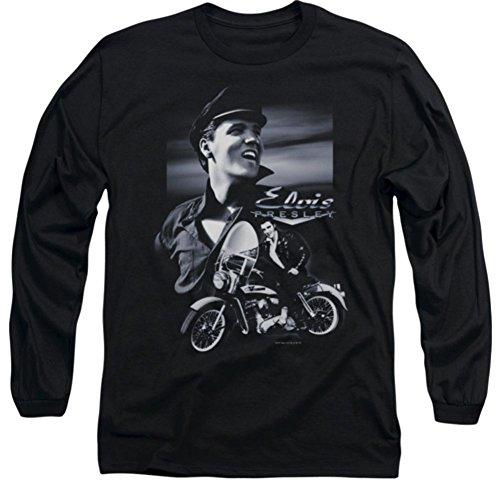 Long Sleeve: Elvis Presley Motorcycle Shirt ELV282LS