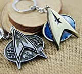 New Arrivals Star Trek Logo Alloy KeyChain Pendant