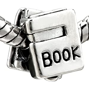 School Book Bead Charms - Pandora Charms & Bracelet Compatible
