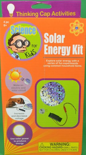Science For Kids Solar Energy Kit Educational Household Experiments - 1