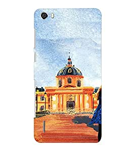 EPICCASE Royal Palace Mobile Back Case Cover For Huawei Honor 6 Plus (Designer Case)