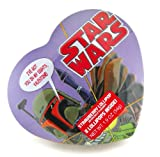 Star Wars Collectors Valentines Day Gift Character Boba Fett Heart Shape Tin with Candy