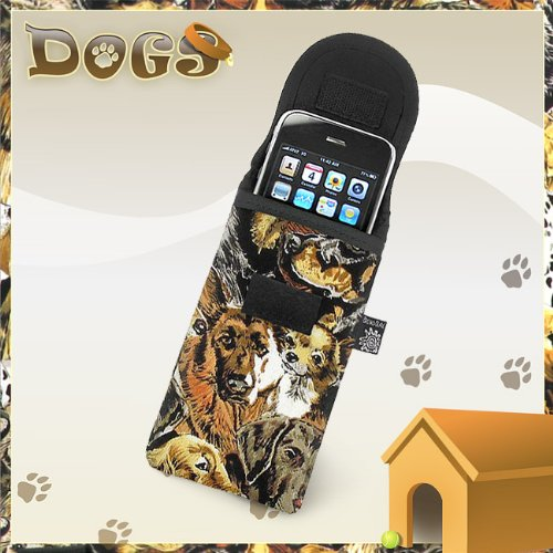 Broad Bay Dogs Phone Case Glasses Holder Dog Fits Apple Iphone Touch Samsung Lg Nokia And More
