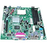 Genuine Dell MotherBoard For Dell OptiPlex 740 Desktop Systems nVidia Chipset: GeForce 6150LE/Nforce 430 Compatible Part Numbers: HX340, YP696, RY469
