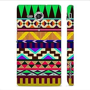 Sony Xperia SP Naga Design designer mobile hard shell case by Enthopia