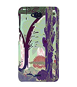 EPICCASE Wild Animals Mobile Back Case Cover For Micromax Canvas Play Q355 (Designer Case)