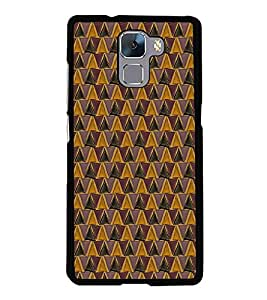Colourful Pattern 2D Hard Polycarbonate Designer Back Case Cover for Huawei Honor 7 :: Huawei Honor 7 Enhanced Edition :: Huawei Honor 7 Dual SIM