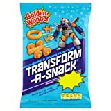 Golden Wonder Transform-A-Snack Cheese & Onion Flavour Crisps 28g Case of 36