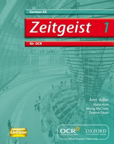 Zeitgeist 1: für OCR AS Students' Book