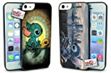 Disney Lilo and Stitch Turtle Hard Case COMBO TWO PACK for iPhone 5c