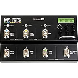 line 6 m9 stompbox modeler guitar multi effects pedal musical instruments. Black Bedroom Furniture Sets. Home Design Ideas