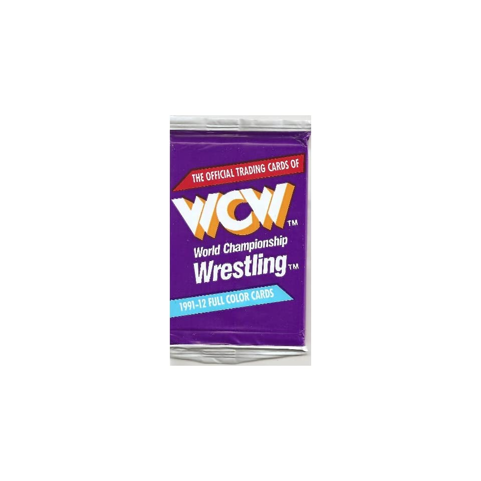 WCW World Championship Wrestling 1991 Impel Wrestling Trading Card Unopened Pack (CT 12)