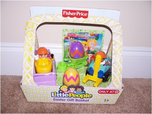 Fisher Price Little People Spring Gift Basket Set for Boys includes Free DVD Big Discoveries.