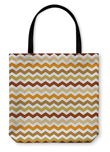 Gear New Tote Bag, Shoulder Tote, Hand Bag, Chevron Pattern, Large