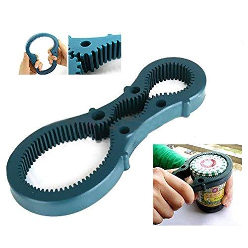Gomangos Jar Openers Rubber Non Slip Bottle Lid Grip Multi Opener Pad Twist Gripper