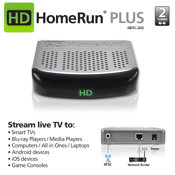 Amazon.com: SiliconDust HDHomeRun EXTEND 2-Tuner ATSC DLNA/UPnP HD Compatible Streaming Media ...