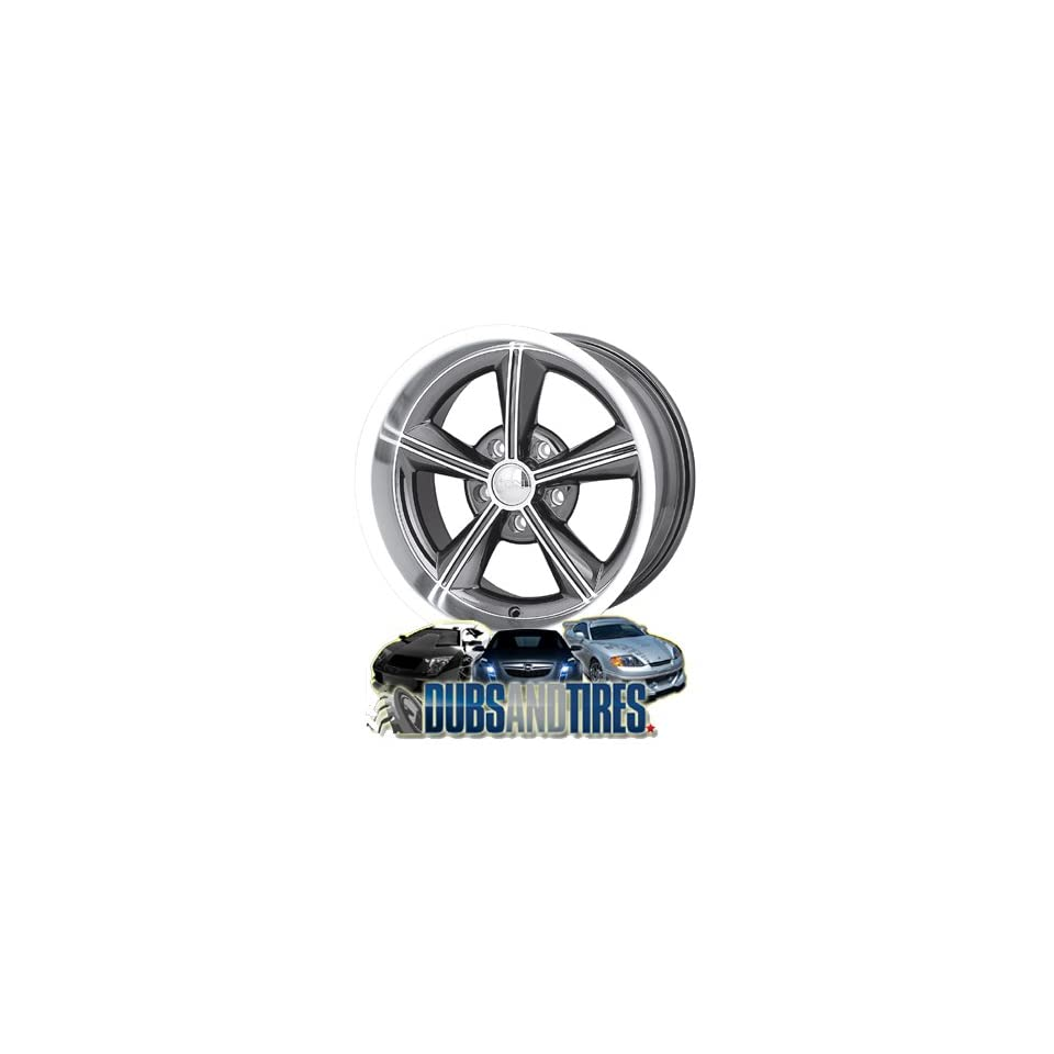 Ion Alloy 625 Grey Wheel with Machined Lip (17x9/5x120.65mm)
