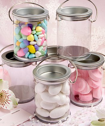 Mini Paint Can Mint Tin Wedding Favors, 50