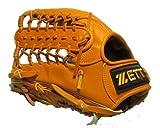 ゼット(ZETT) 硬式外野グローブ プロモデル 13インチ イチローウェブ 左投 ゴールドラベル 海外モデル ナチュラル 高校野球対応カラー [並行輸入品]