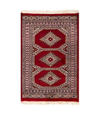 RugSense Teppich Kashmir rot/mehrfarbig 87 x 59 cm