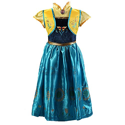 Princess Anna Traveling Classic Costume Dress