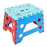 Disney(ディズニー) 折り畳み 踏み台 ステップ チェア 耐荷重 50? / キャラクター ミニタオル との2点セット(ドナルド+ミニタオル)