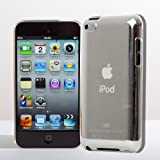 4G Touch Crystal Case & Screen Protector Cover for New Apple iPod Touch 4 4th Generation - 8GB 32GB 64GB