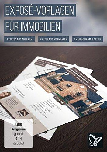 Expos vorlagen f r immobilien h user und wohnungen win mac for Wohnung designer programm