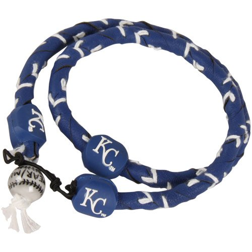 MLB Kansas City Royals Team Color Frozen Rope Baseball Necklace at Amazon.com