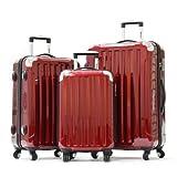 Olympia Luggage Stanton 3 Piece Hardcase Set