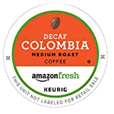 AmazonFresh 80 Ct. Coffee K-Cups, Decaf Colombia Medium Roast, Keurig Brewer Compatible (Tamaño: 1.66 pounds)