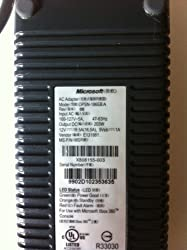 Microsoft XBOX 360 Power Adapter Brick 203 watt - DPSN-186EB A (X808155-003)