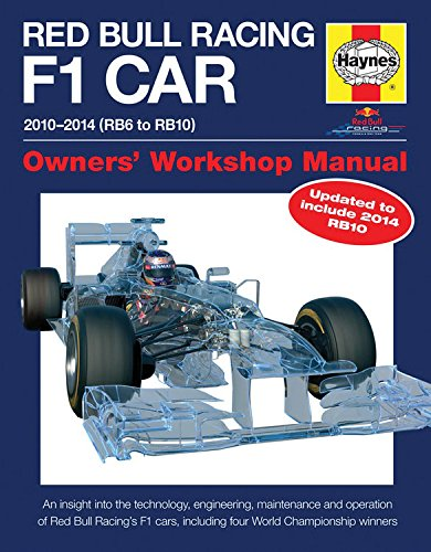Red Bull Racing F1 Car Manual: 2010-2014 (RB6 to RB10) (Owners Workshop Manual)