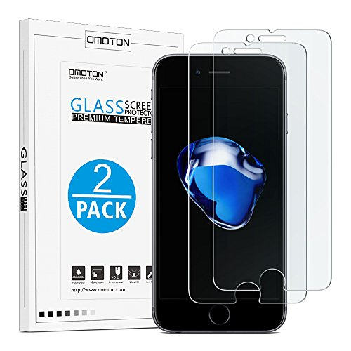 OMOTON-iPhone-7-Plus-Screen-Protector-2-Pack-9H-Hardness-Crystal-Clear-Bubble-Free-3D-Touch-Compatible-Tempered-Glass-Screen-Protector-for-Apple-iPhone-7-Plus