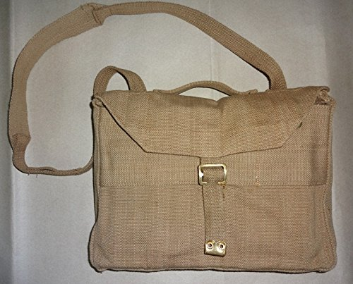 WWII British P-37 Valise Bag For Officers With Carry Strap (British Ww2 Straps compare prices)
