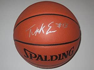 Tyreke Evans Signed Autographed Basketball Sacramento Kings Authentic Certified Coa