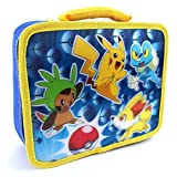 Pokemon Soft Lunch Box (Blue Lenticular Pokemon)