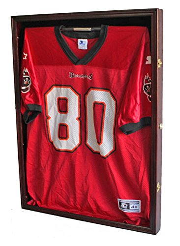 PRO UV Basketball, Football, Hockey Jersey Frame Display Case, LOCKABLE, (JC01-MA)
