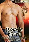 Rory's Mate (The Vampire Coalition Book 2)
