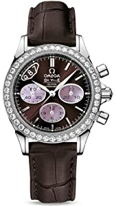 NEW OMEGA DeVILLE CHRONOGRAPH LADIES WATCH 422.18.35.50.13.001