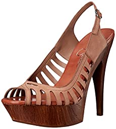 Jessica Simpson Women\'s Finch Dress Sandal, Totally Taupe, 8 M US