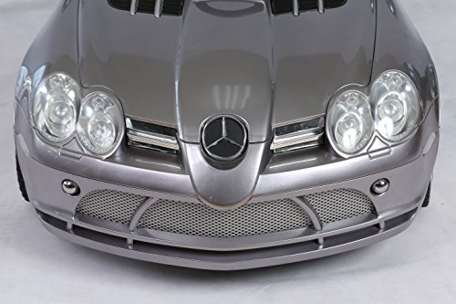 NUMBER ONE SELLING TOY CAR LICENSED MERCEDES SLR MCLAREN WITH REMOTE ELECTRIC RIDE ON CAR 12v BATTERY 2 MOTORS LIMITED EDITION NEW 2015