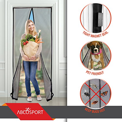 Save 68 magnetic screen door keeps the fresh air in for 18 and out the door