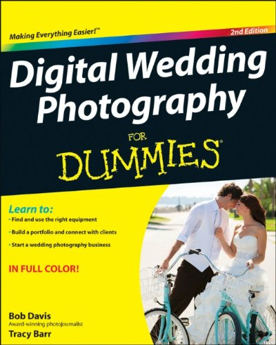 Book of Digital Wedding Photography For Dummies