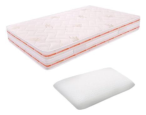Matratze quadratisch und eine Hälfte-Schaum 6cm 120x 190Höhe 25cm 12cm hoch Cushion Jalousie Entspannung ORTOPEDICO